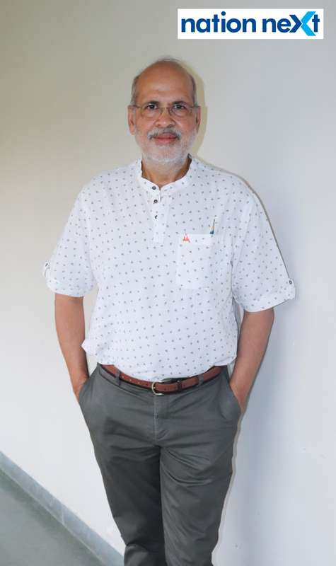 Ashok Mokha during Cindrebay School of Design's graduation ceremony and annual day in Nagpur