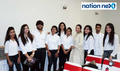 Students of Nagpur's Cindrebay School of Design had a gala time together at the institute's annual day cum graduation ceremony held at Chitnavis Centre.
