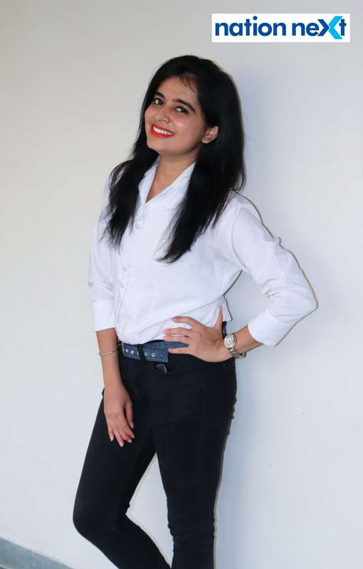 Divya Ramani during Cindrebay School of Design's graduation ceremony and annual day in Nagpur