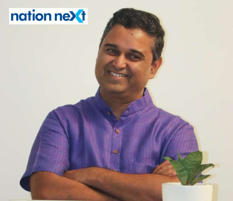 Nikhil Mundle during Cindrebay School of Design's graduation ceremony and annual day in Nagpur