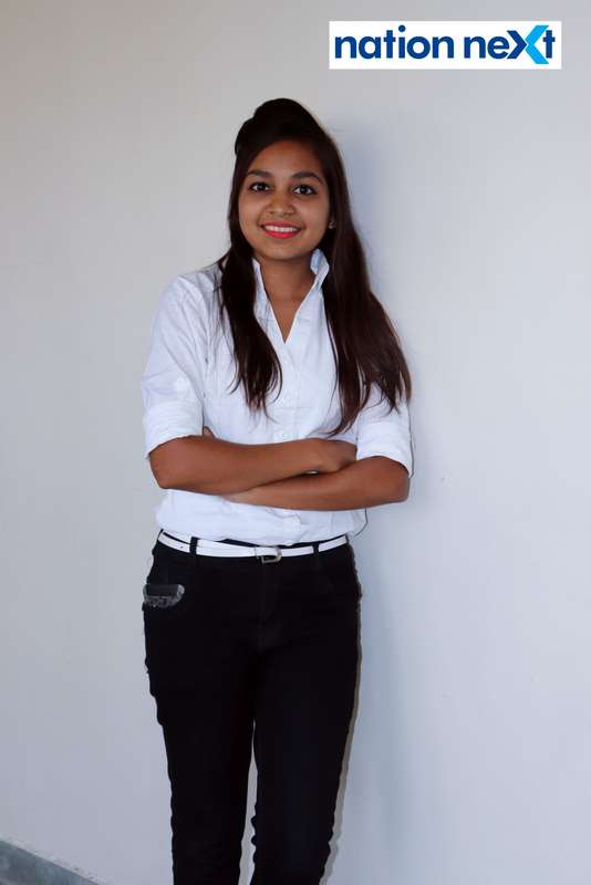 Swati Karhade during Cindrebay School of Design's graduation ceremony and annual day in Nagpur
