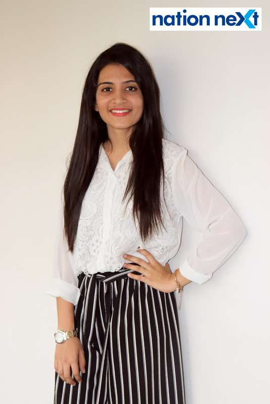 Tanvi Lokhande during Cindrebay School of Design's graduation ceremony and annual day in Nagpur