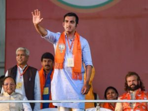 Former Cricketer Gautam Gambhir, who joined BJP a couple of months back, has won the East Delhi Constituency seat for BJP in Lok Sabha Elections 2019.