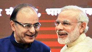 Narendra Modi visited outgoing finance minister Arun Jaitley's residence in New Delhi ask him to reconsider his decision to remain in the new government.