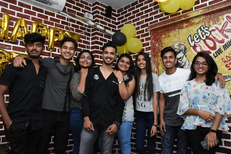 Nagpur emcees and musicians were spotted having a fun time at a birthday party hosted by city emcee Farhan Kazi at Desi House Cafe in Nagpur.