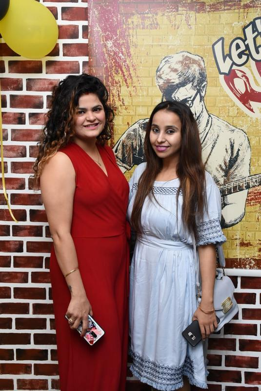 Palwinder Shahu and Renee Alag during Farhan Kazi's birthday party in Nagpur