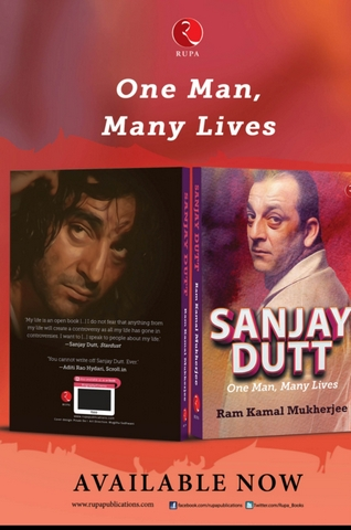 Noted author and filmmaker Ram Kamal Mukherjee announced his latest book on Bollywood actor Sanjay Dutt named 'Sanjay Dutt - One Man, Many Lives.'