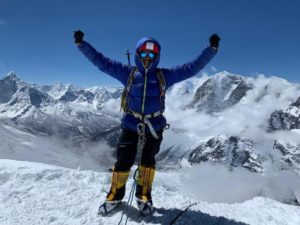 Nagpur's 29-year-old mountaineer Pranav Bandbuche became the first person from the city to climb the world's highest peak – Mount Everest – on Monday.