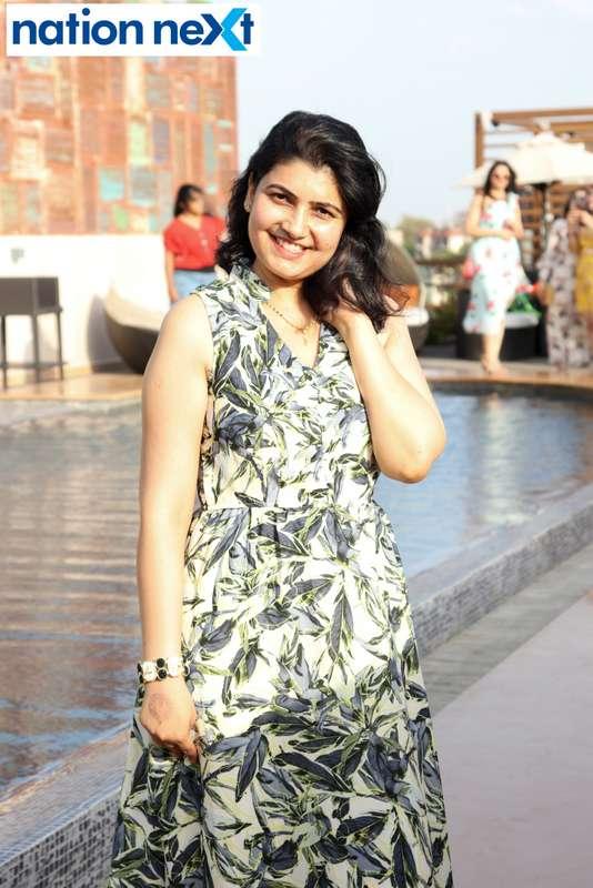 Aparna Chandan at the Skye Sundowner Pool Party held at Hotel Tuli Imperial in Nagpur