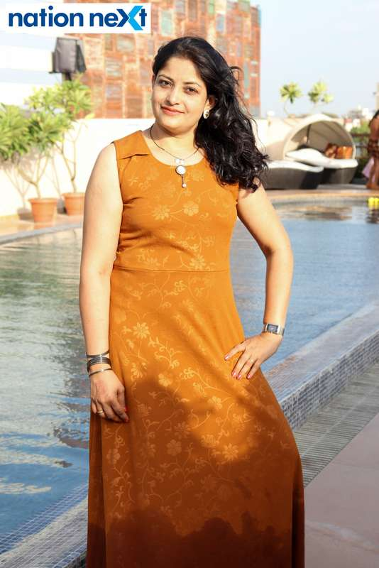 Archana Deotale at the Skye Sundowner Pool Party held at Hotel Tuli Imperial in Nagpur