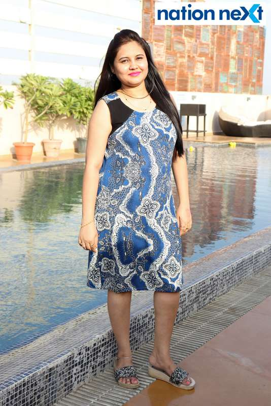 Bharti Yerpude at the Skye Sundowner Pool Party held at Hotel Tuli Imperial in Nagpur