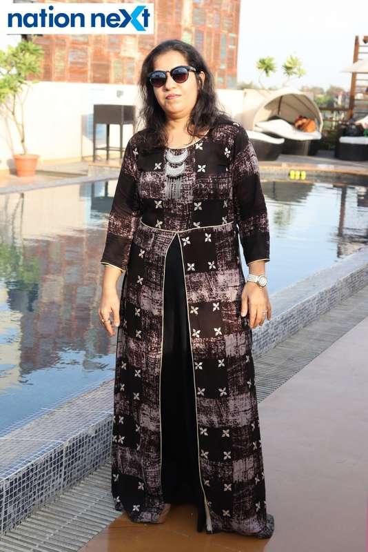Jaya Chhabria at the Skye Sundowner Pool Party held at Hotel Tuli Imperial in Nagpur