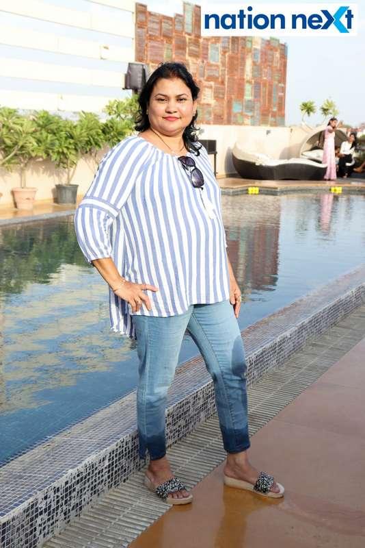 Jyotsna Bhadakkar at the Skye Sundowner Pool Party held at Hotel Tuli Imperial in Nagpur