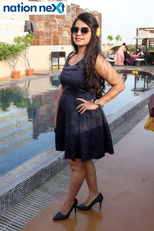 Manisha Motwani at the Skye Sundowner Pool Party held at Hotel Tuli Imperial in Nagpur