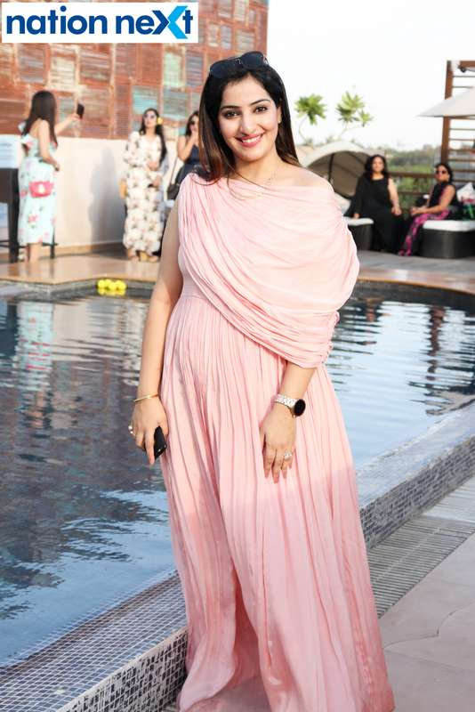 Monika Chawla at the Skye Sundowner Pool Party held at Hotel Tuli Imperial in Nagpur