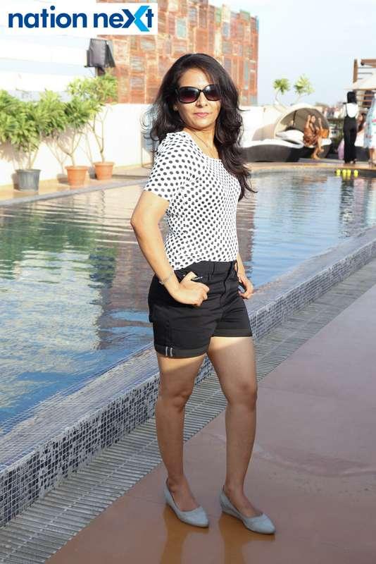 Parvani Yadav at the Skye Sundowner Pool Party held at Hotel Tuli Imperial in Nagpur