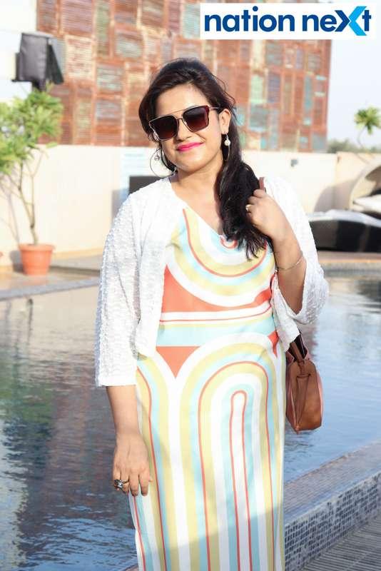 Raima Methai at the Skye Sundowner Pool Party held at Hotel Tuli Imperial in Nagpur