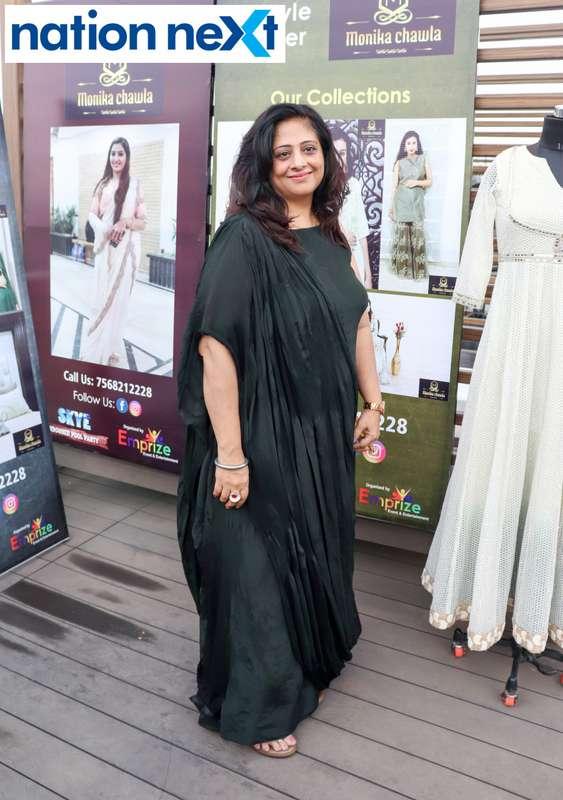 Sangita Chawla at the Skye Sundowner Pool Party held at Hotel Tuli Imperial in Nagpur
