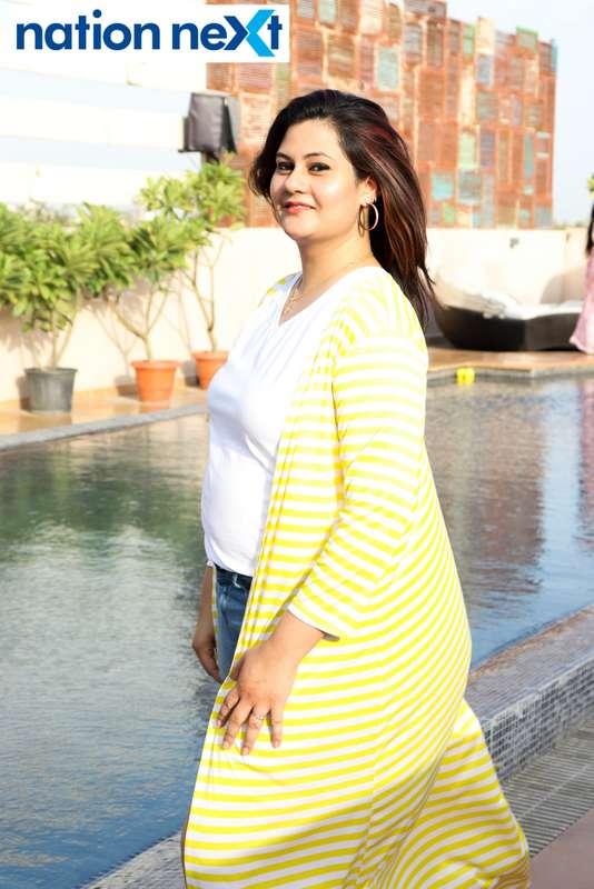 Snehal at the Skye Sundowner Pool Party held at Hotel Tuli Imperial in Nagpur