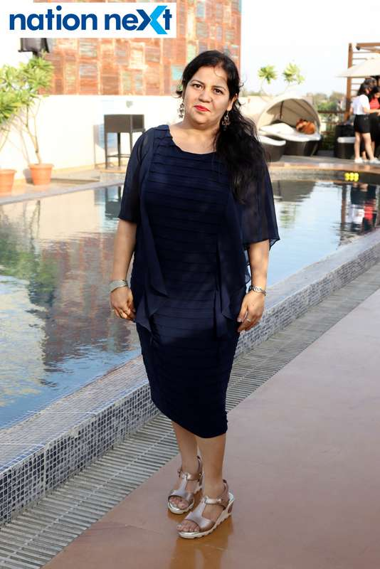 Tanika Makhija at the Skye Sundowner Pool Party held at Hotel Tuli Imperial in Nagpur
