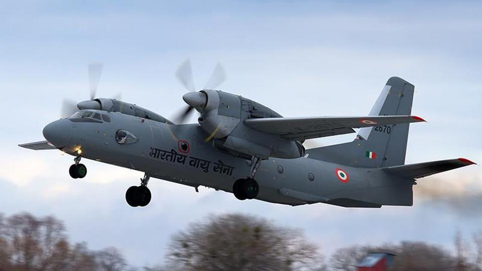 AN-32, an Indian Air Force (IAF) transport aircraft, with 13 people on board went missing after taking off from Assam's Jorhat at 12.24 pm on Monday.
