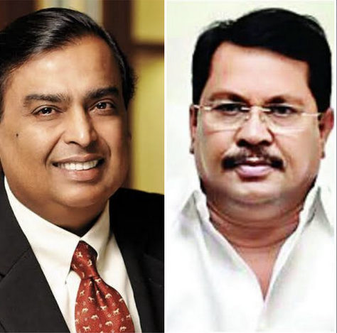 Vijay Wadettiwar accused business tycoon Mukesh Ambani-led Reliance Jio of cheating the Maharashtra government to the tune of Rs 4500 crore.