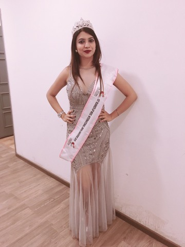An engineer by profession, Nagpur's Apurva Pathekar was declared as the first runner up during the Global Mr and Miss International India Universe 2019.