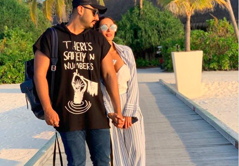 Putting all speculations to rest, Malaika Arora finally made her relationship 'official of sorts' with rumoured boyfriend and actor Arjun Kapoor.