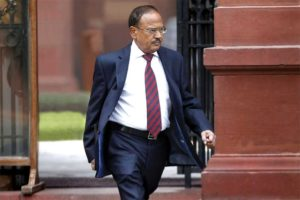 National Security Advisor Ajit Doval has be reappointed to the post in the Prime Minister's office and has also been given a Cabinet rank.