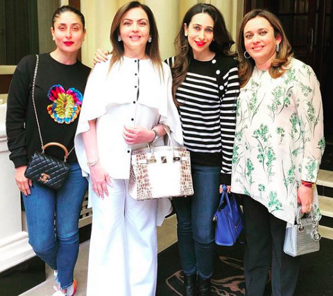 Nita Ambani: With more than 240 diamonds studded on it, the luxury bag is worth over Rs 2.6 crore and is laced with an 18K silver and golden hardware.