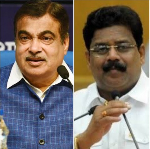 Two BJP leaders from Nagpur got into troubled waters for discussing Nitin Gadkari and Vikas Thakre during a phone conversation.