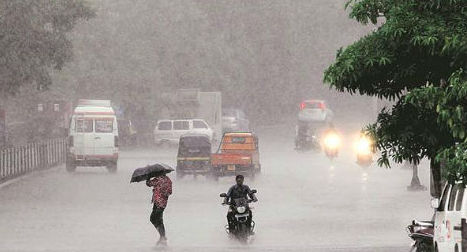 Unexpected rains and thunderstorm lashed Nagpur on Saturday evening, bringing the much-needed respite for Nagpurians from the unbearable heat.