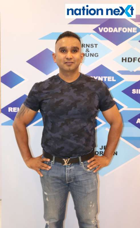 Akash Agrawal at the fashion show organised by Aptech Aviation Academy in Nagpur