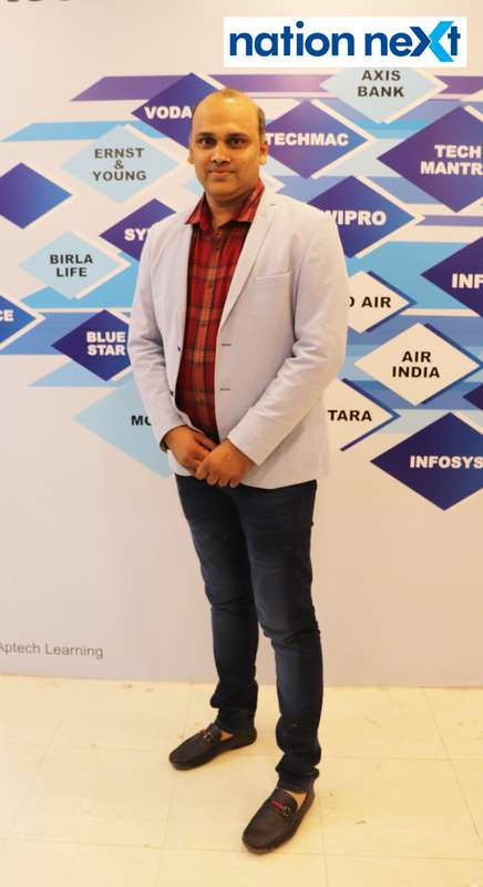 Rakesh Totla at the fashion show organised by Aptech Aviation Academy in Nagpur