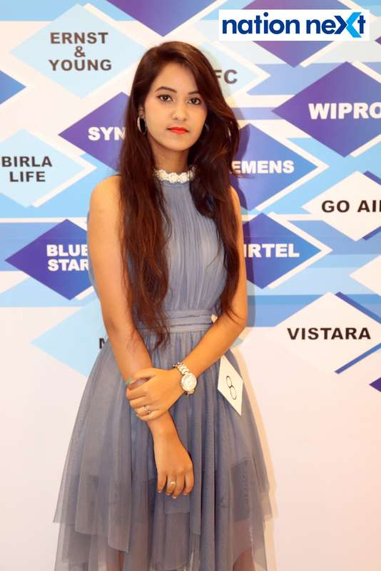 Ritu Bagde at the fashion show organised by Aptech Aviation Academy in Nagpur