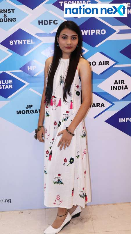Ruhi Ramtekkar at the fashion show organised by Aptech Aviation Academy in Nagpur