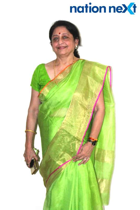 Varsha Manohar during the musical evening 'Jeena Isi Ka Naam Hain' organised at old age home 'Soham' in Nagpur