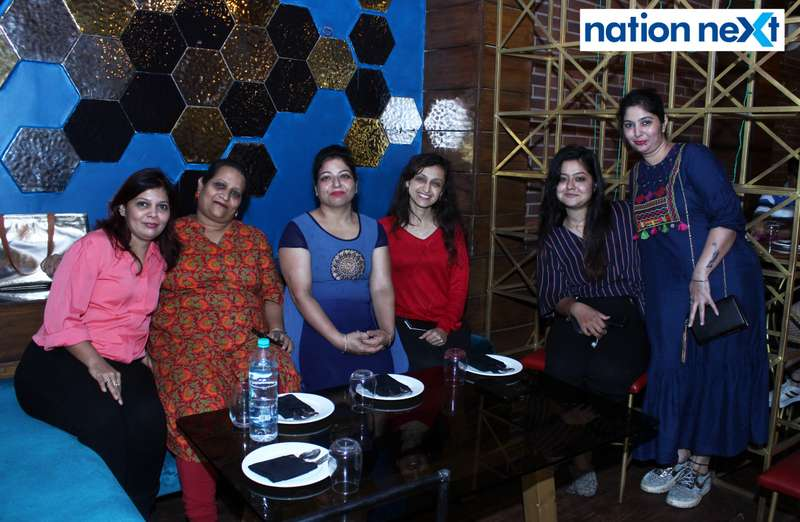 Ladies at 'Suphony Extravaganzas' organised at Carnations in Nagpur