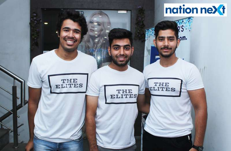 Mayank Motwani, Chirag Dewani and Yomesh Kewalramani at 'Suphony Extravaganzas' organised at Carnations in Nagpur