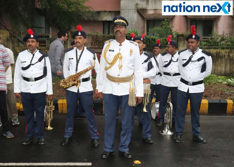 Police Band during 'Cyclotsav' organised by Nagpur Police