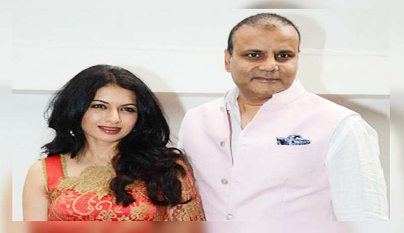 Actress Bhagyashree has rubbished the FIR lodged by Mumbai Police against her husband Himalaya Dasani for his alleged role in a gambling racket.