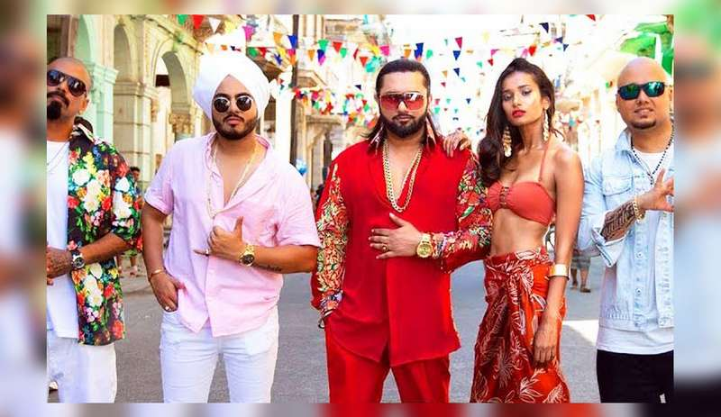 Yo Yo Honey Singh in his song 'Makhna'