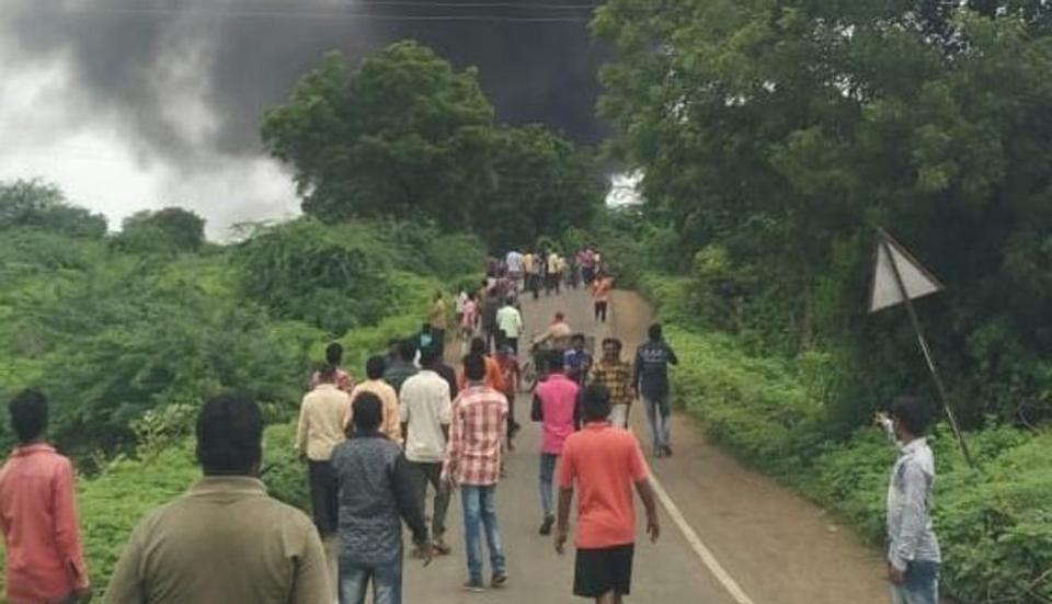 At least eight workers are said to be killed and several injured in explosion of cylinders at a chemical factory at Dhule in Maharashtra.