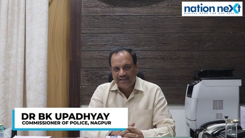 Nagpur Police Commissioner Dr BK Upadhyay warned anybody who's caught violating rules on December 31st would be immediately locked up in jail.