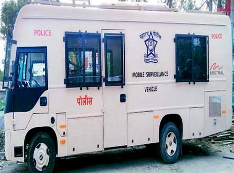 Nagpur Police under Safe and Smart City Project received three Mobile Surveillance Vehicles (MSV) and five drones on August 15.