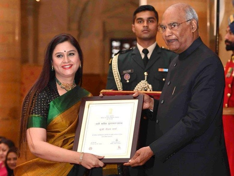 Veteran Doordarshan News anchor Neelum Sharma, who received the Nari Shakti Award earlier this year, passed away on Saturday.