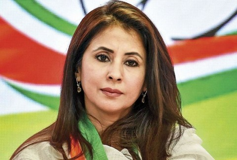 Actor turned politician Urmila Matondkar lashed out at the Centre over security clampdown imposed in Jammu and Kashmir post the abrogation of Article 370.