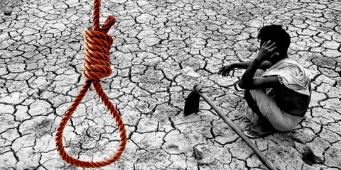A 53-year-old farmer Pramod Jane from Katol at Nagpur district allegedly ended his life by hanging himself on Saturday night.