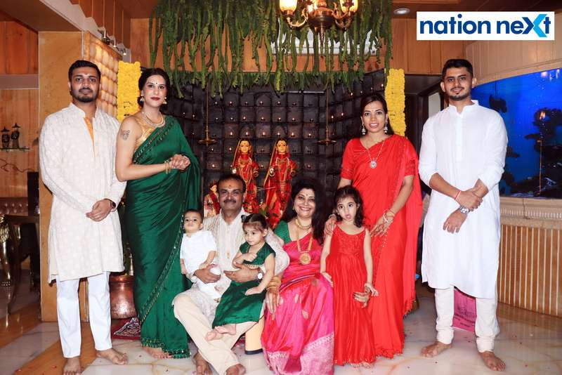 Like every year, Satish and Mala Munde hosted a grand Mahaprasad function following the Goddess Mahalaxmi Pooja at their residence in Nagpur.