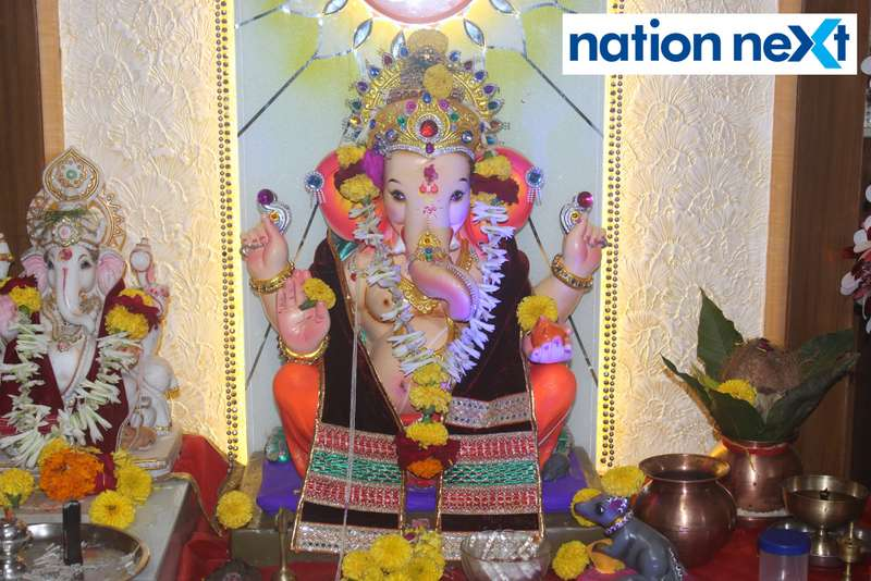 Lord Ganesha devotees enjoyed the delicious spread and sought Bappa's blessings at a Mahaprasad function organised by KRIMS Hospitals in Nagpur.